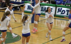 Girls Volleyball Wins Conference Opener