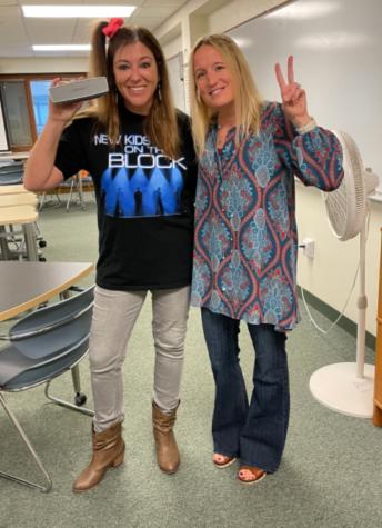 Mrs. Andrea Gilson and Sra. Crystal Dory