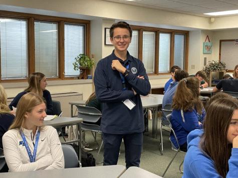 Polish International Student Brings Multiple Interests, Talents to NDA